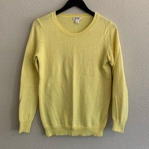 Old Navy Yellow Sweater Sz M